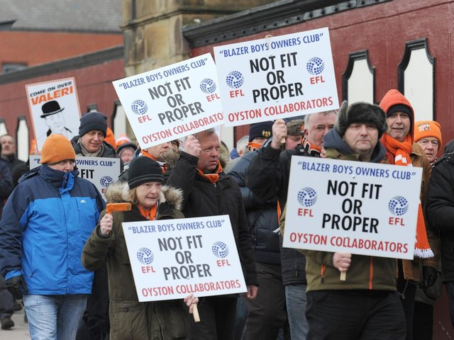 Blackpool and Charlton Athletic fans to unite for joint protest at ...