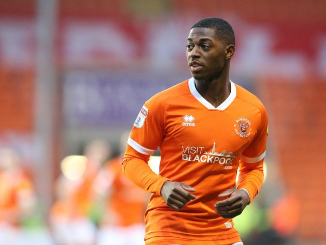 Sullay Kaikia last played at Bloomfield Road against Accrington Stanley on Boxing Day