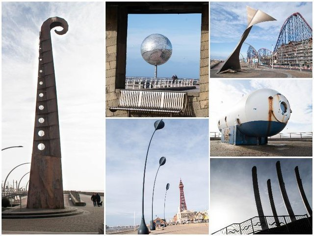 This is everything you need to know about Blackpool's unusual sculptures and structures