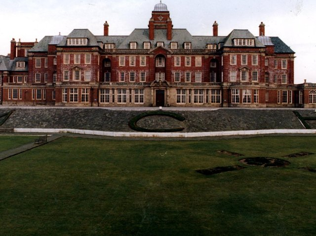 The former Miners' Convalescent Home in Blackpool