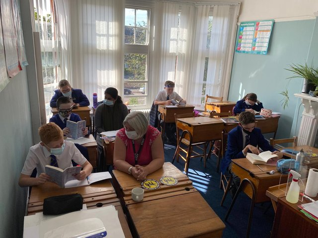 Learning will not be beaten by the bugs at St Annes College Grammar School