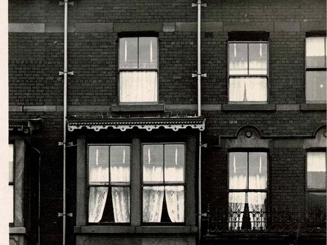 84 Albert Road, Blackpool - the boarding house as it was at the turn of the 20th Century
