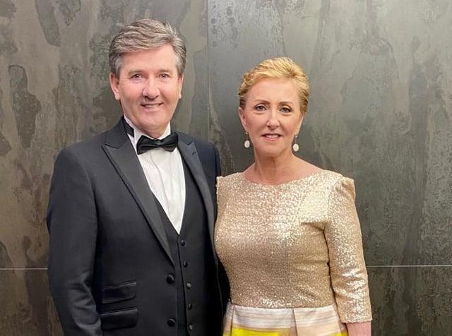 Irish singer Daniel O'Donnell with wife Majella