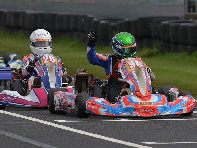 Sam Gornall vai representar a Grã-Bretanha numa importante competição internacional no Algarve.  Imagem: Kartpix.net