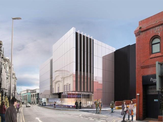 CGI of the £20m development