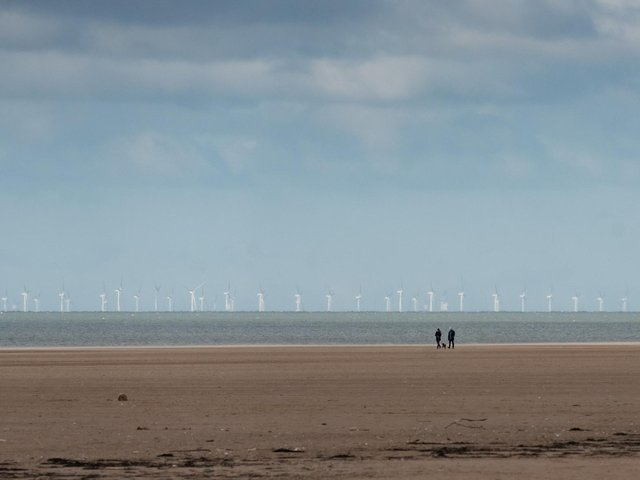 Wind farms are already visible from Blackpool's coastline, but Offshore Wind Limited's proposed new wind farm will be even more prominent at just 17 miles off the coast. Pic: Daniel Martino for JPI Media