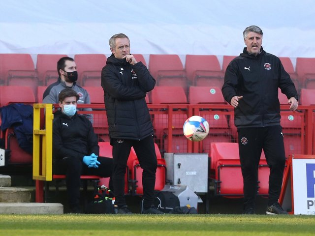 Neil Critchley saw his Blackpool side win at Charlton Athletic on Saturday