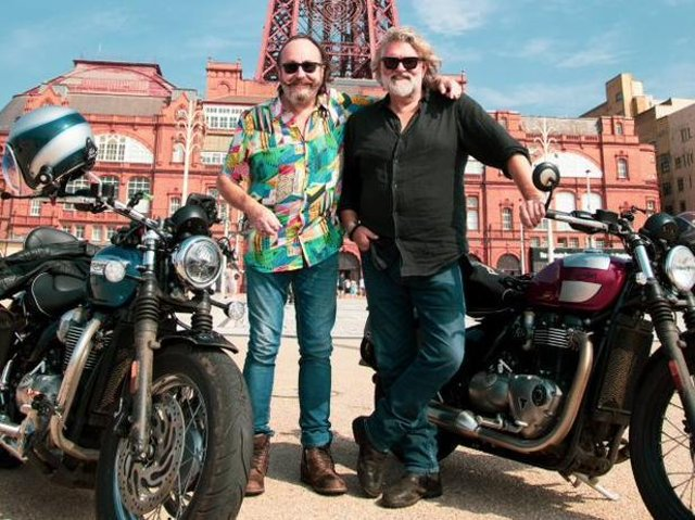 Si King and Dave Myers, the Hairy Bikers are back on UK soil for their latest adventure The Hairy Bikers Go North