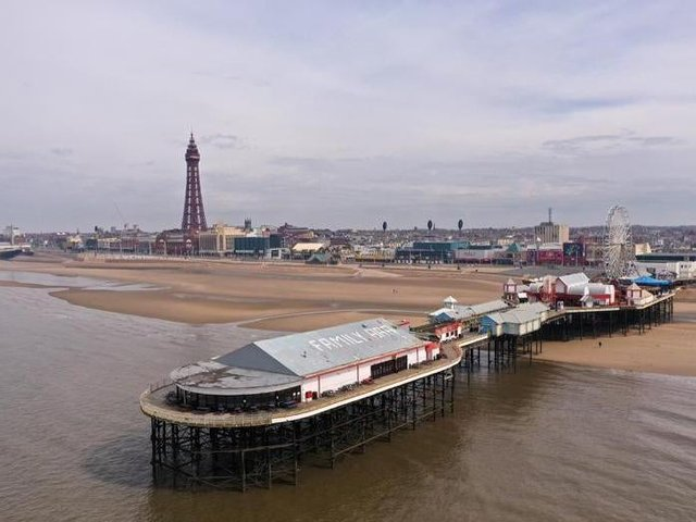Blackpool finished in last place in the new index.