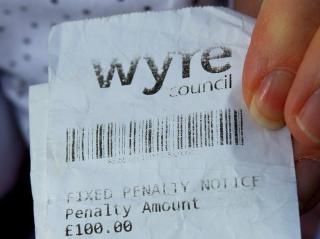 The enforcement scheme in Wyre looks set to be extended until March 2022