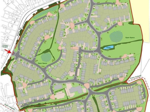 The applicants wanted to build up to 330 homes on land south of Blackpool Road, between Poulton and Carleton