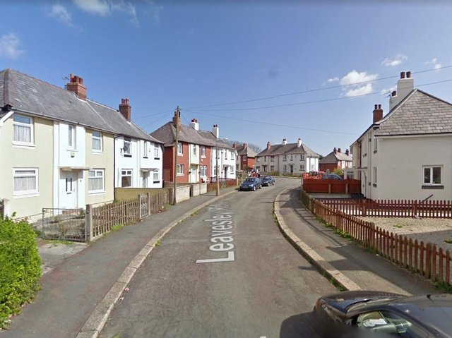 Three fire engines from Blackpool and Bispham attended the scene in Leavesley Road. (Credit: Google)