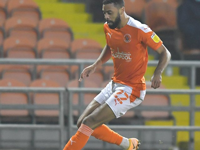 CJ Hamilton returned for Blackpool on Tuesday evening