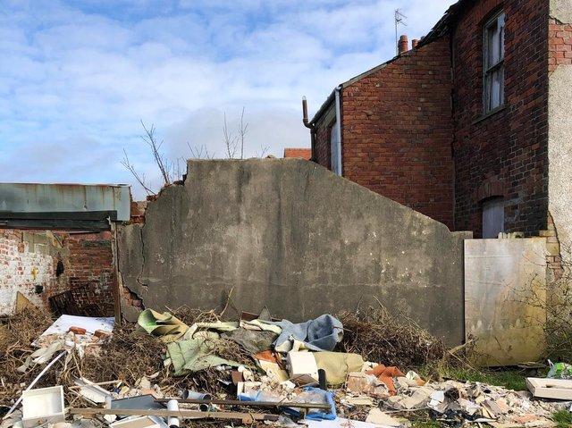 Concerns have been raised about this property on the corner of Poulton Road and Lune Road in Poulton