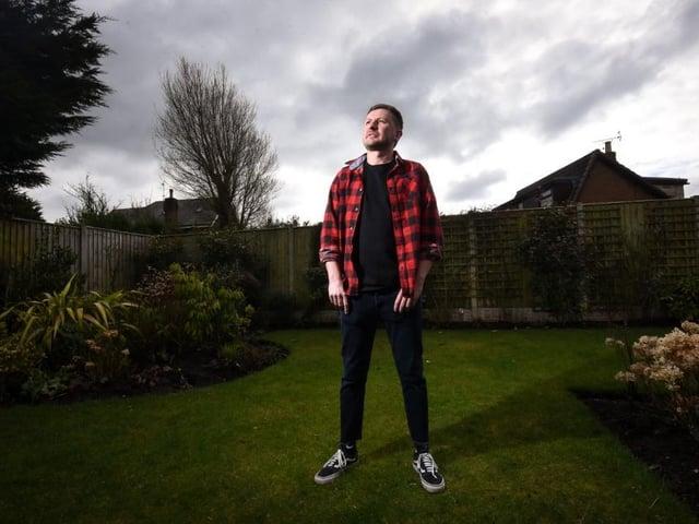 Cavan McKenna, 30, spent six years of his life battling a heroin addiction to become a nurse on the haemotology ward at Blackpool Vic. Photo: Daniel Martino/JPI Media