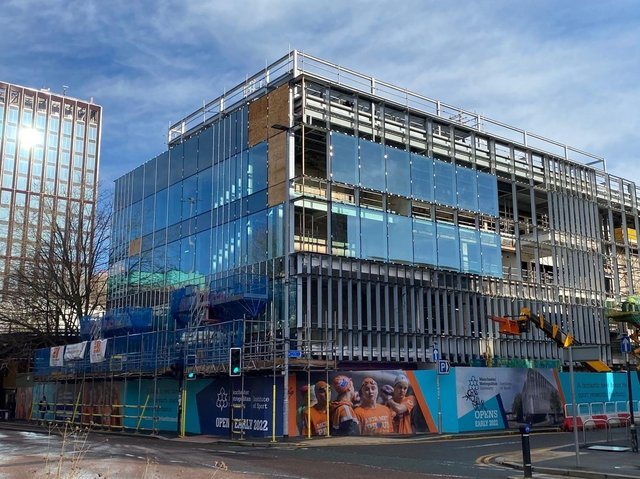 Blackpool-based Ameon is working on Manchester Metropolitan University's, Institute of Sport