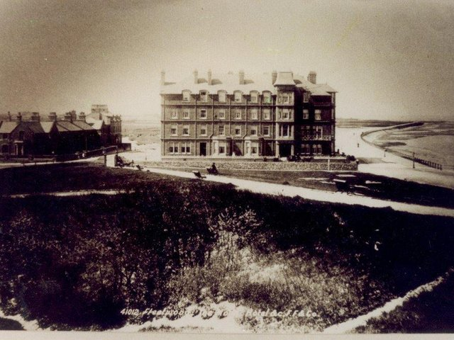 The Mount Hotel seen from the Mount