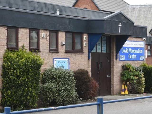 Our Lady Star of the Sea is currently being used as a Covid-19 vaccination centre