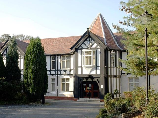 The Civic Centre in Poulton.