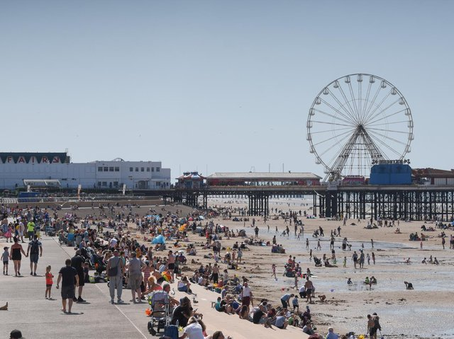 A campaign has been launched by Blackpool Council to get the resort up and running again