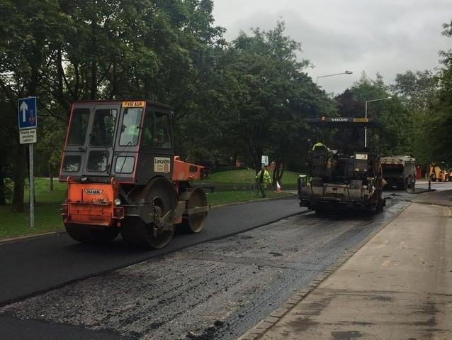 Full-scale resurfacing is planned for dozens of Lancashire's roads in the next 12 months