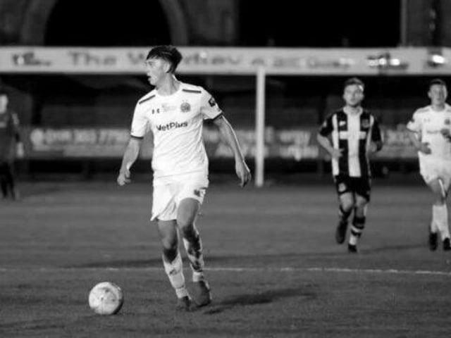 Luke Bennett playing for AFC Fylde Picture: AFC Fylde