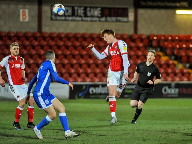 Ged Garner has become a regular starter in recent Fleetwood games and boss Simon Grayson praised his 'clever' play