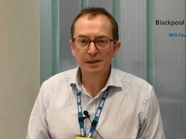 Dr Jim Gardner, medical director at Blackpool Victoria Hospital, and Clifton Hospital in St Annes