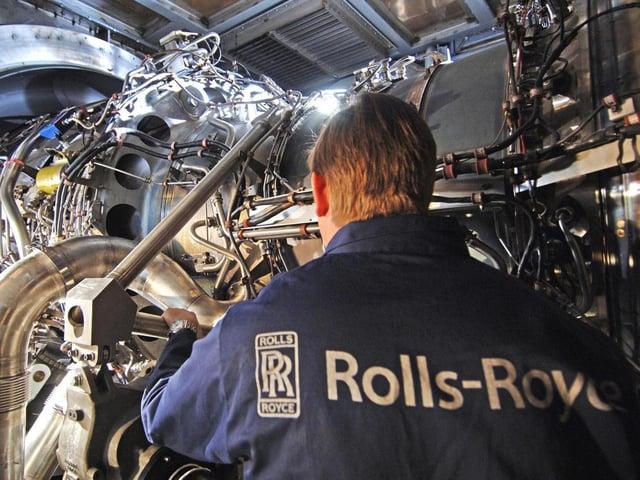 Rolls Royce has a Lancashire factory