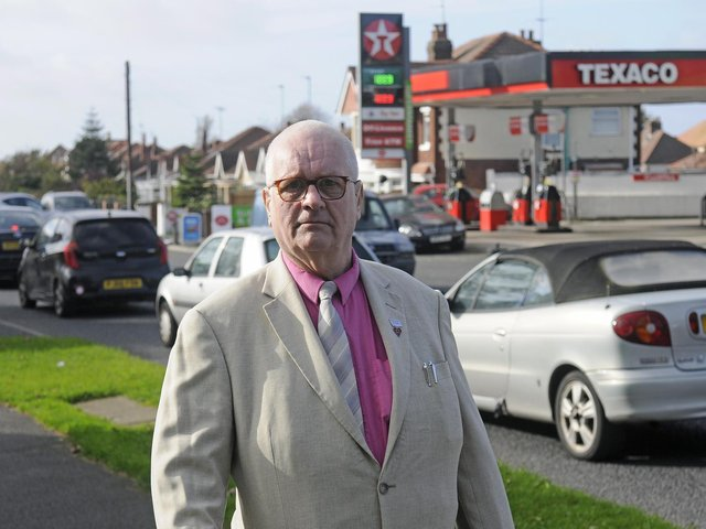 Terry Bennett is a well known community figure on the Grange Park estate