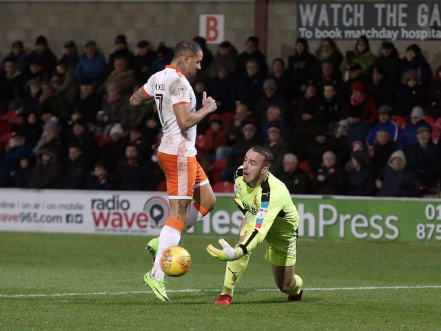 Kyle Vassell has knowledge of Blackpool-Fleetwood Town matches having featured for the Seasiders