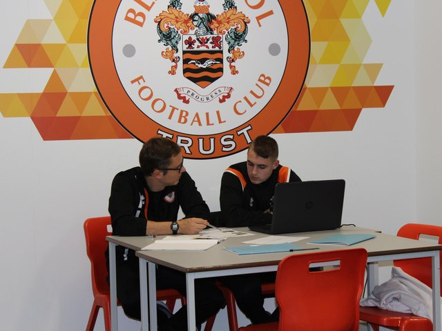 Blackpool FC Community Trurst has emphasised its commitment to education