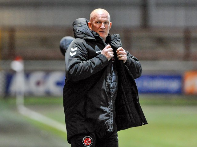 Simon Grayson returns to Bloomfield Road with Fleetwood Town tomorrow Picture: Stephen Buckley/PRiME Media Images Limited