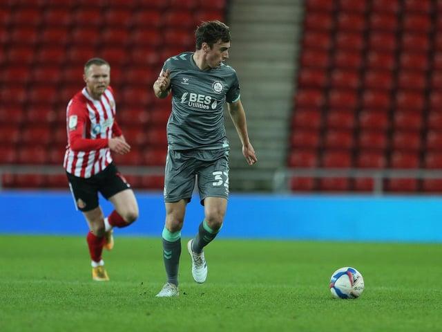 Fleetwood Town defender Harrison Holgate Picture: Mark Fletcher/PRiME Media Images Limited