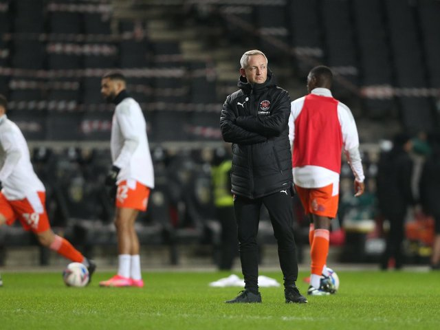 Blackpool head coach Neil Critchley saw his side win in midweek