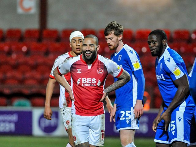 Fleetwood Town loan striker Kyle Cassell Picture: Stephen Buckley/PRiME Media Images Limited