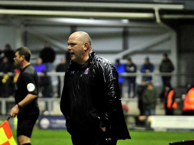 AFC Fylde manager Jim Bentley Picture: Steve McLellan