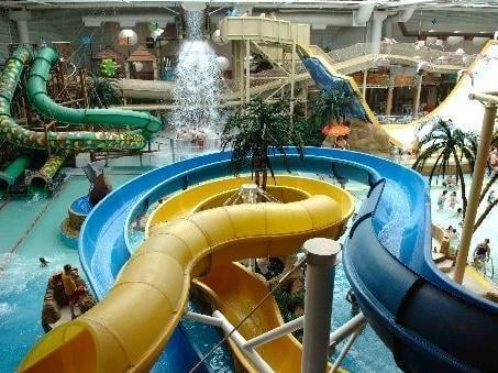 Free admission was pledged to attractions which could have included the council-owned Sandcastle Water Park