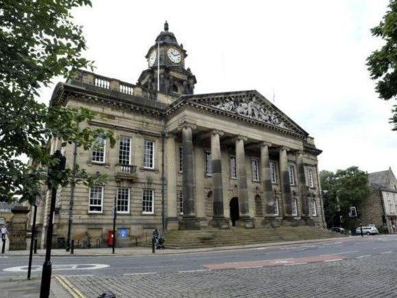 The defendant is being tried at the Ashton Hall Nightingale court in Lancaster Town Hall