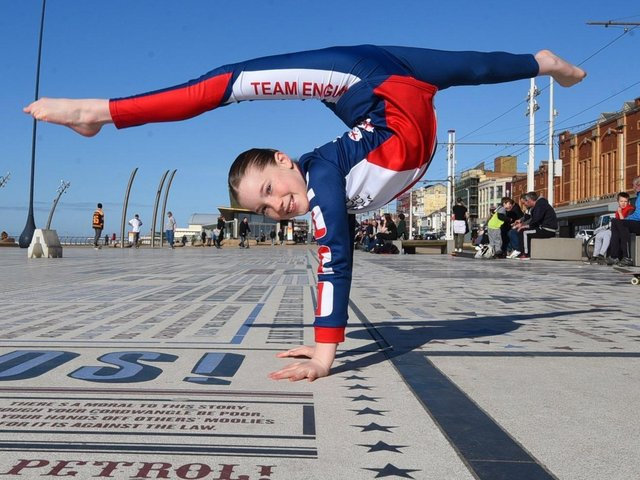 Ava Burke, 11, from Layton, has set herself a trick-a-thon fund-raising challenge from North Pier to Central Pier in Blackpool on Easter Sunday.