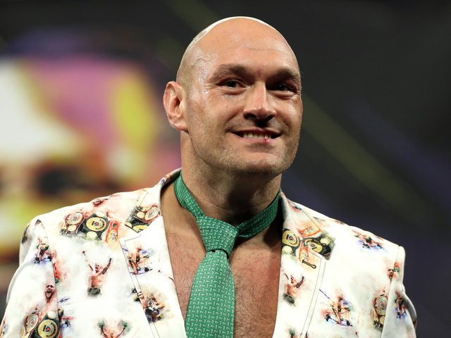 Tyson Fury claimed he had stopped training and was drinking up to 12 pints of lager per day