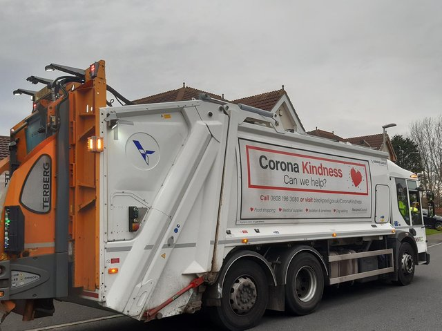 Waste collection is merging with street cleansing