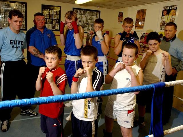 Boxers at Preston Elite ABC