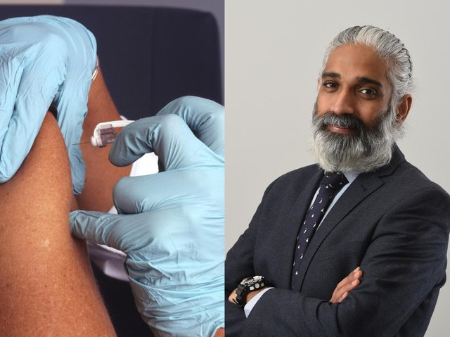 Dr. Sakthi Karunanithi says the vaccine is about protecting others, as well as the individuals who receive it