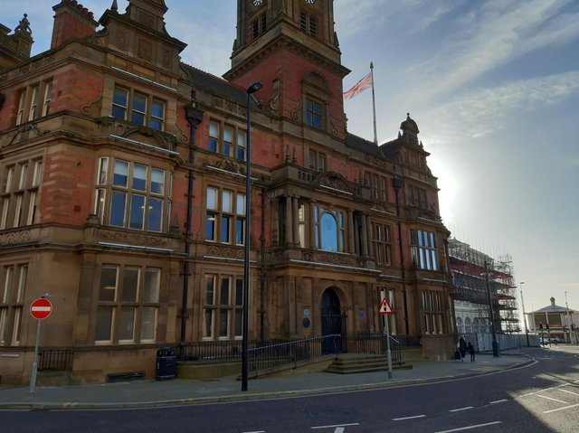 Blackpool town hall today