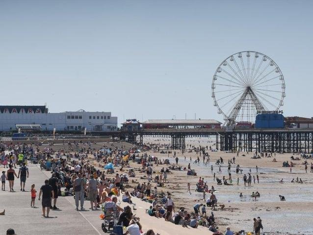 Google hits coming from Scots searching for Blackpool accommodation have soared in recent days by over 5,000 per cent, in anticipation of the resort reopening to tourists in June.