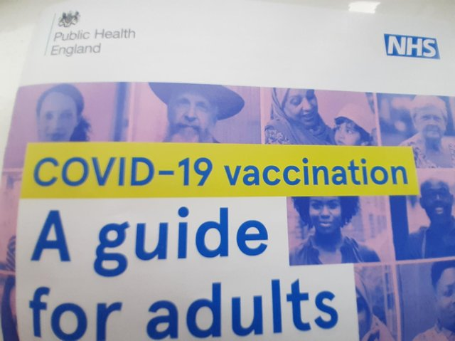 Staff who are hesitant about the vaccine are being offered advice