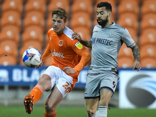 Blackpool ground out another point against Burton Albion in midweek
