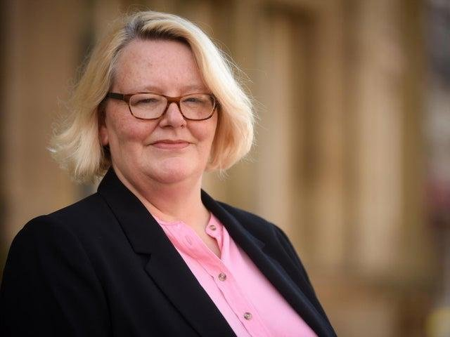 Lynn Williams, leader of Blackpool Council