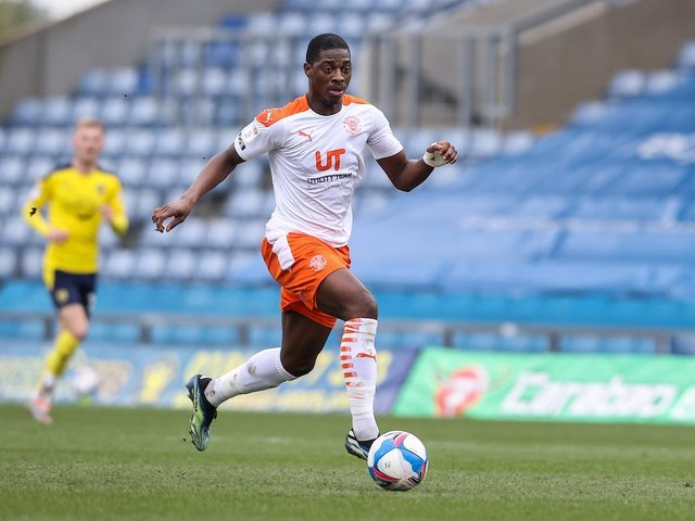 Sullay Kaikai was in scintillating form for the Seasiders at the Kassam Stadium yesterday
